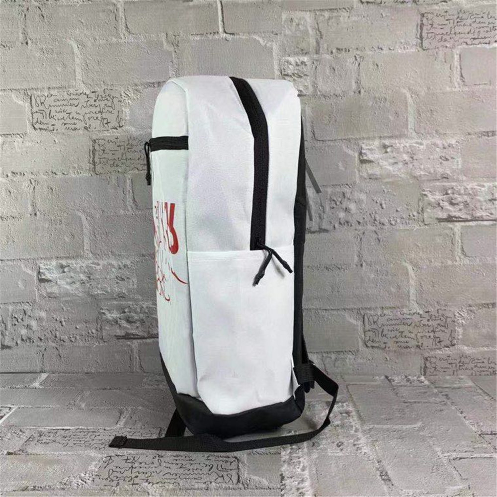 09167-1 PF65 Nike Backpack White Red Black