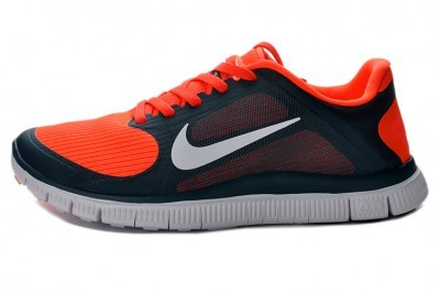 2013 Nike Free 4.0 V3 Mens Shoes Black Red