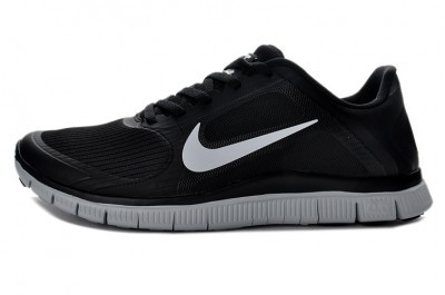 2013 Nike Free 4.0 V3 Mens Shoes Black