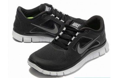 2013 Nike Free Run 5.0 V3 Mens Shoes Black