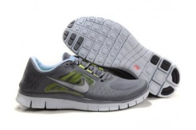 2013 Nike Free Run 5.0 V3 Mens Shoes Grey White