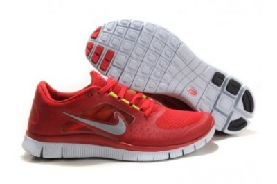 2013 Nike Free Run 5.0 V3 Mens Shoes Red White