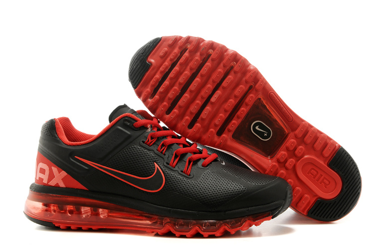 2013 Air Max Black Red Running Shoes