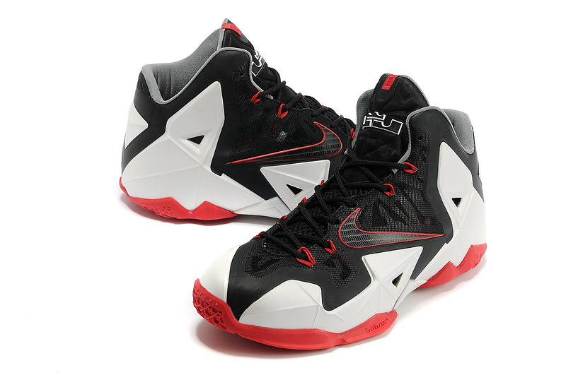 Buy Nike Lebron 11 Womens - Nike Lebron James 11 Shoes Black White Red P 71