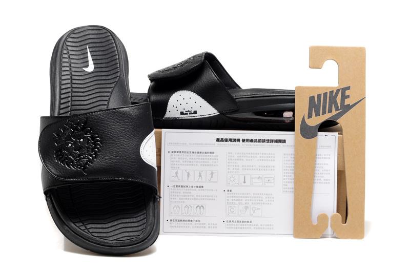 Nike Lebron James Massage Hydro Sandal Black