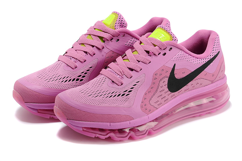 Women Nike Air Max 2014 Shoes All Pink