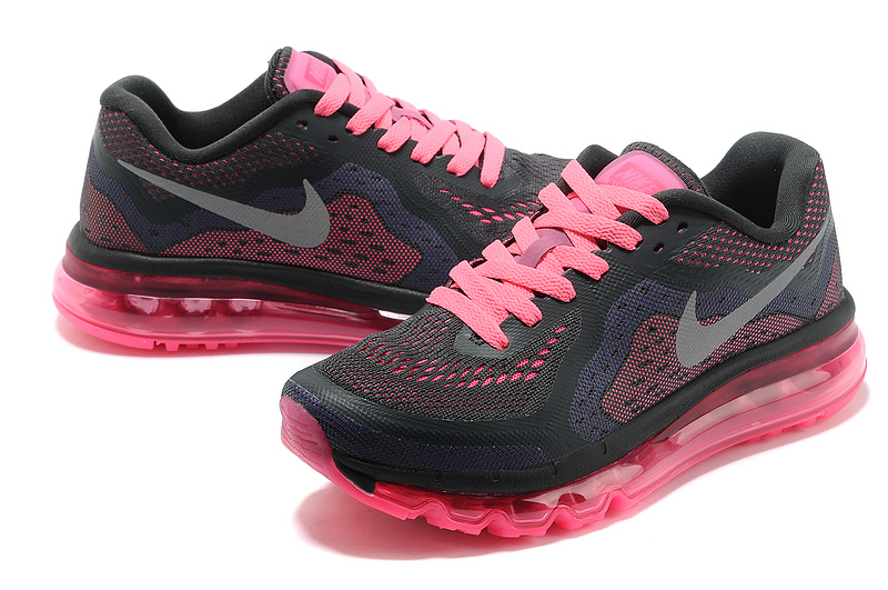 Women Nike Air Max 2014 Shoes Black Pink