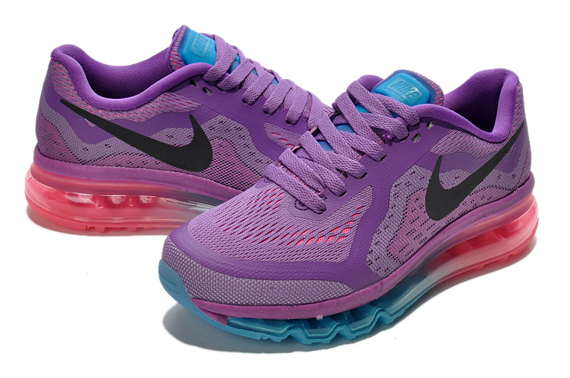 Nike Air Max 2014 Purple Blue Pink For Women