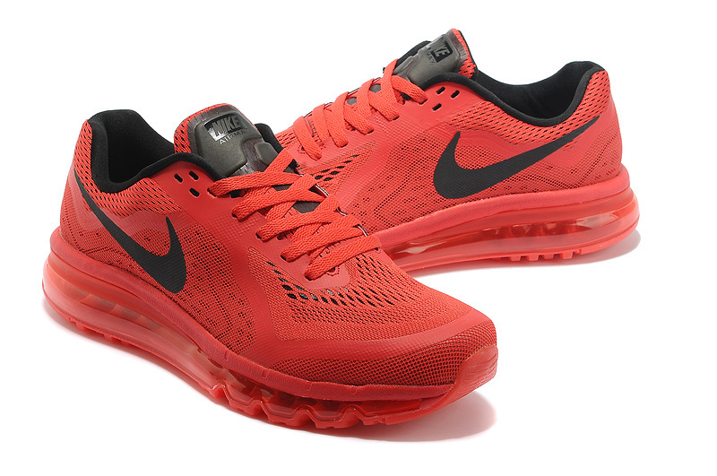 Nike Air Max 2014 Red Black For Women