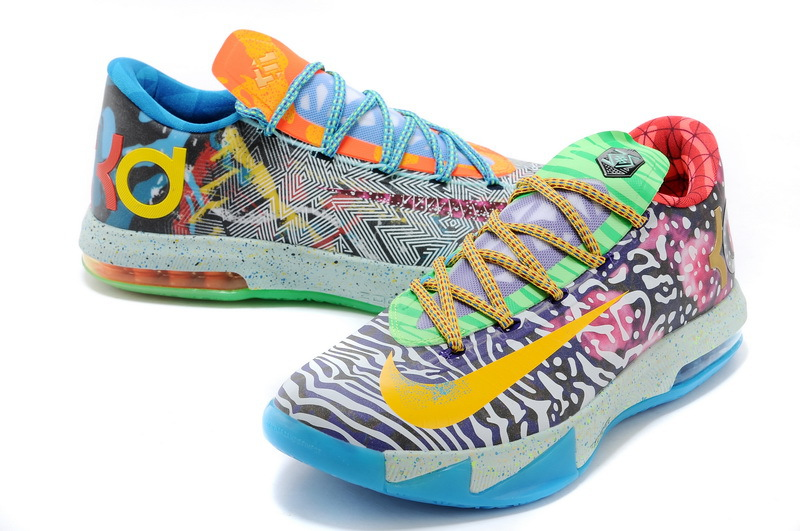Latest What The KD Of Kevin Durant 6 Shoes