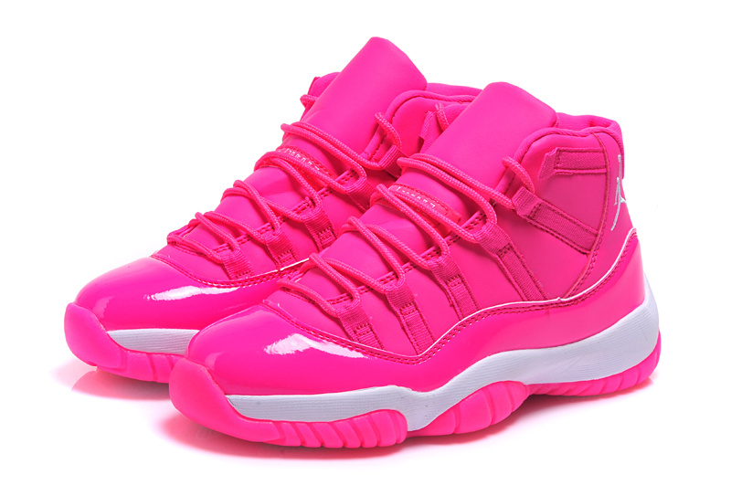 Latest Nike Air Jordan 11 Pink Shoes For Women