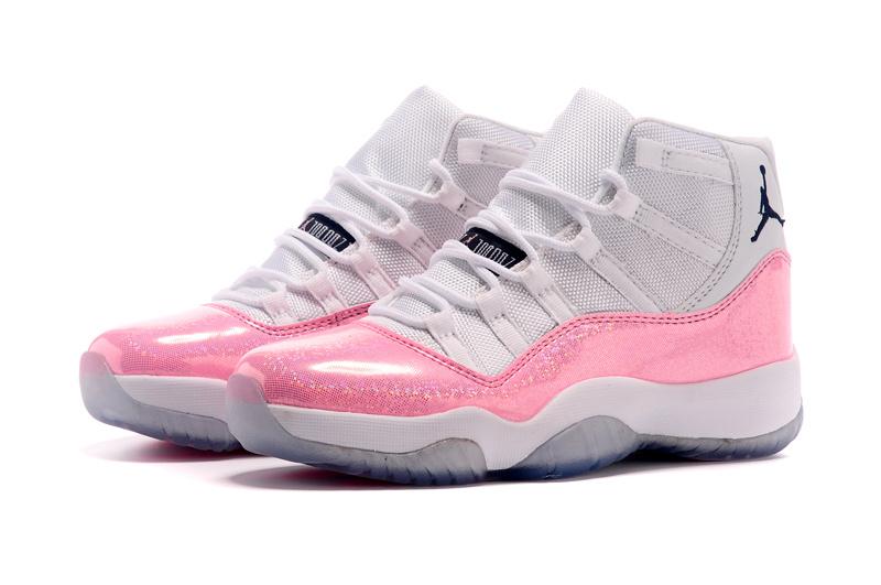 Nike's New Air Jordan 11 White Pink Shoes For Women