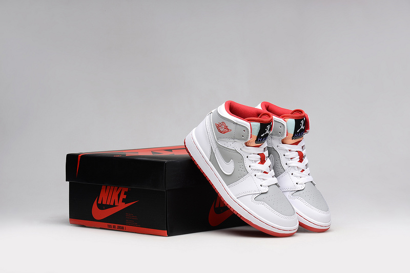 2015 Nike Air Jordan 1 Bugs Bunny White Red Grey