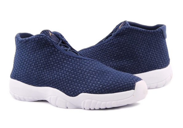 2015 Nike Air Jordan Future 11 Deep Blue White