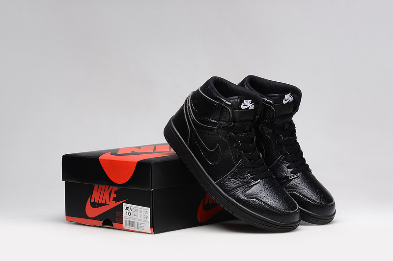 2015 Nike Air Jordan 1 All Black