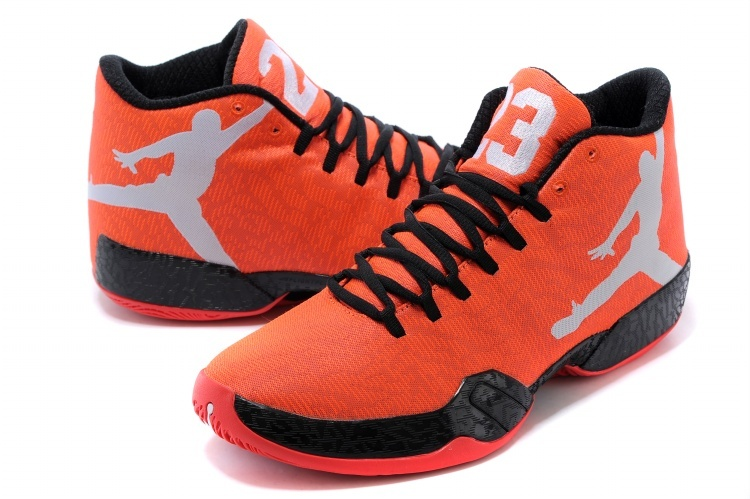 Nike Air Jordan 29 Orange Black Grey Shoes