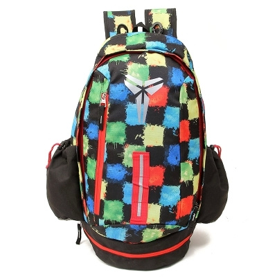 2015 Nike Kobe Blue Red Black Backpack