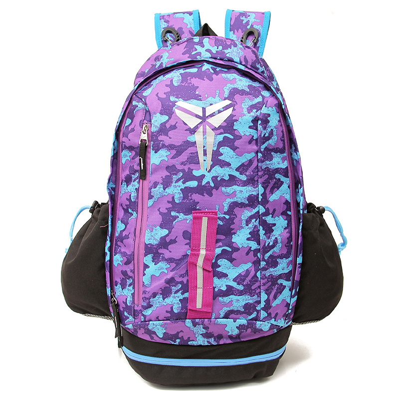 2015 Nike Kobe Purple Blue Black Backpack