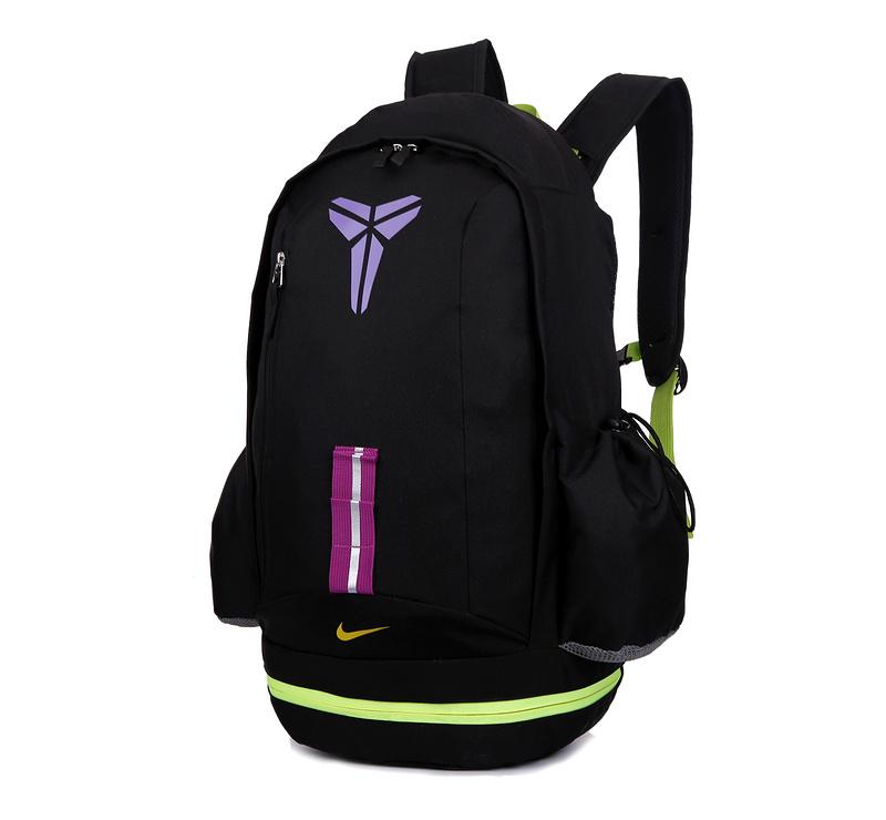 2015 Nike Kobe Sea Black Flurorscent Green Backpack