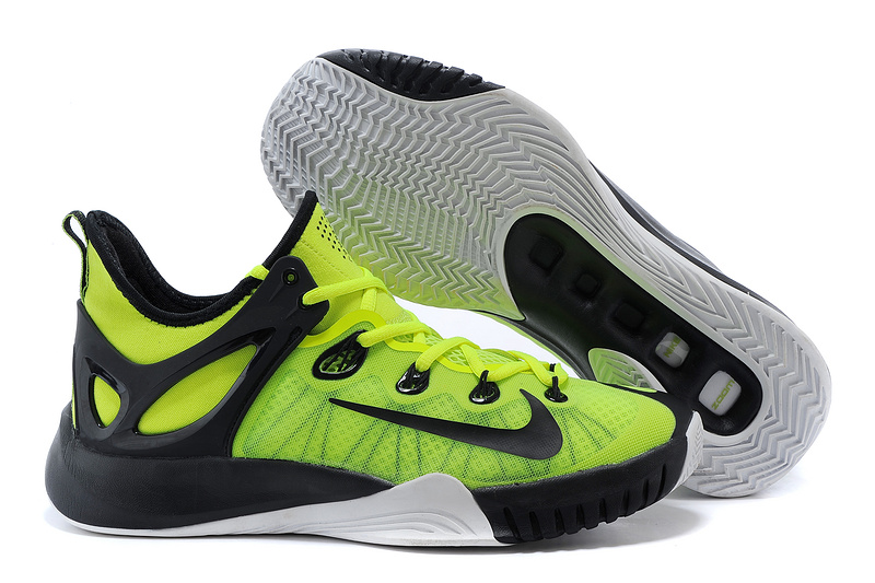 2015 Nike Paul George Team Shoes Green Black