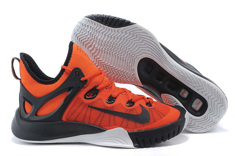 2015 Nike Paul George Team Shoes Orange Black White