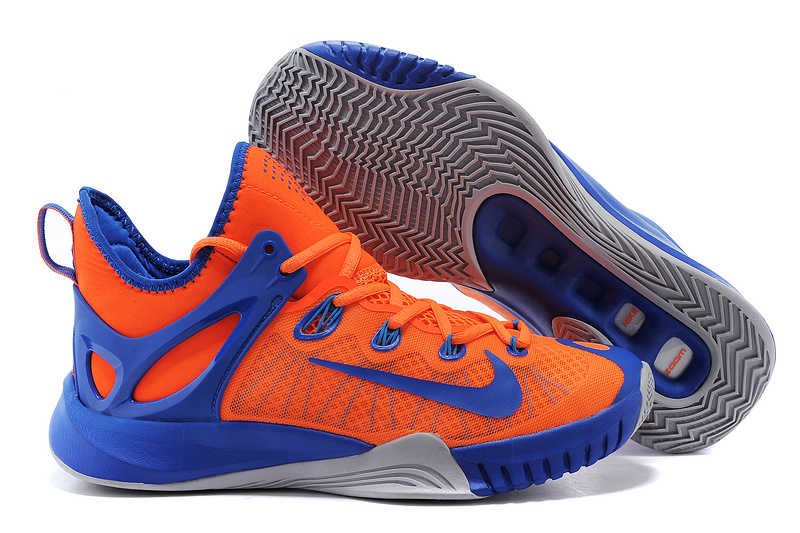 2015 Nike Paul George Team Shoes Orange Blue