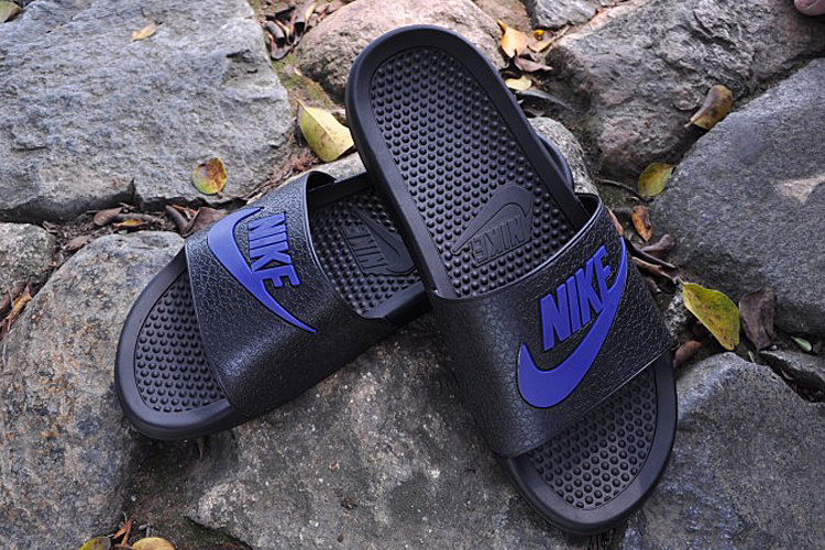 2015 Nike Sandal Black Blue
