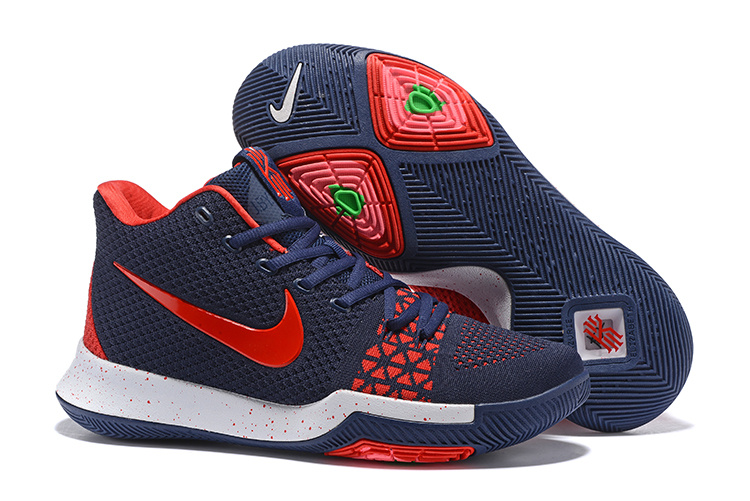 kyrie 3 red and white