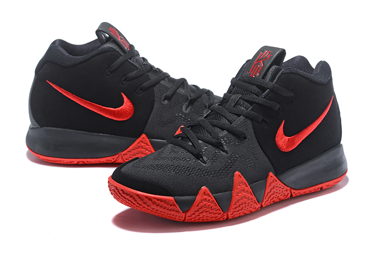 2018 mens nike kyrie 4 black red