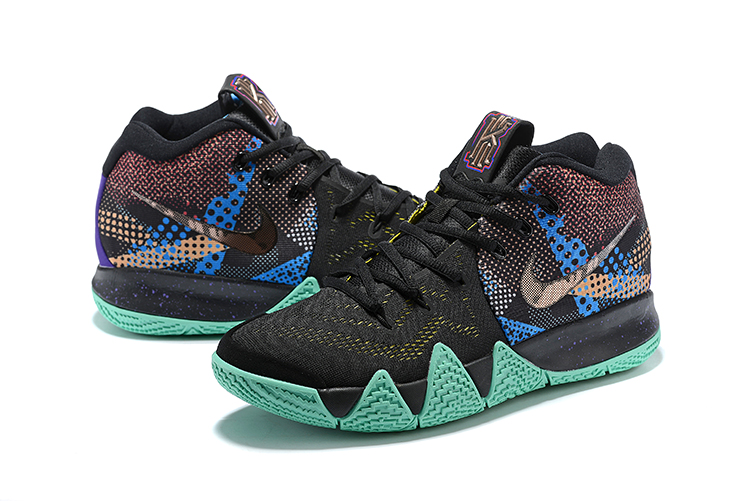 2018 mens nike kyrie 4 mamba mentality black sonic yellow purple venom