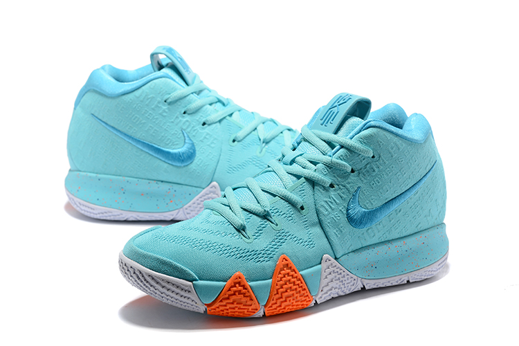 2018 mens nike kyrie 4 power is female light aqua neo turquoise shoes
