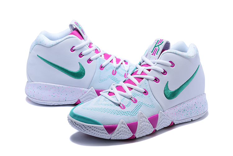 2018 nike kyrie 4 white pink mint green