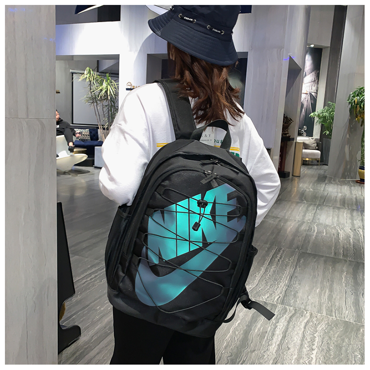 2020 Black Shine Blue Nike Backpack