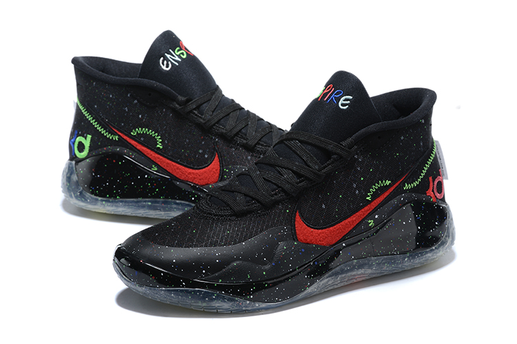 Nike Kevin Durant 13 Black Red Green Shoes