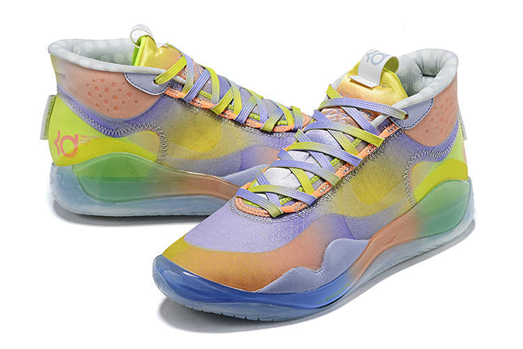 Nike Kevin Durant 12 Yellow light Purple Orange