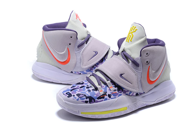Nike Kyrie Irving 6 Purple Blue Yellow For Women