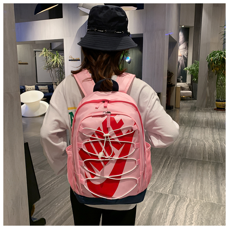 2020 Pink Red Black Nike Backpack