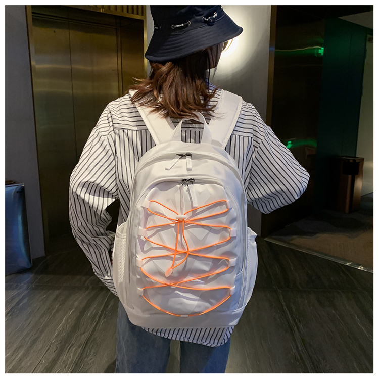2020 Silver Orange Nike Backpack