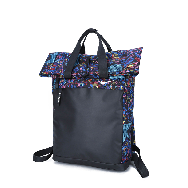 2020 Stylish Black Blue Colorful Nike Backpack