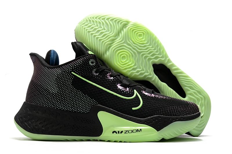 World Cup 2020 Nike Zoom Black Green Basketball Shoes