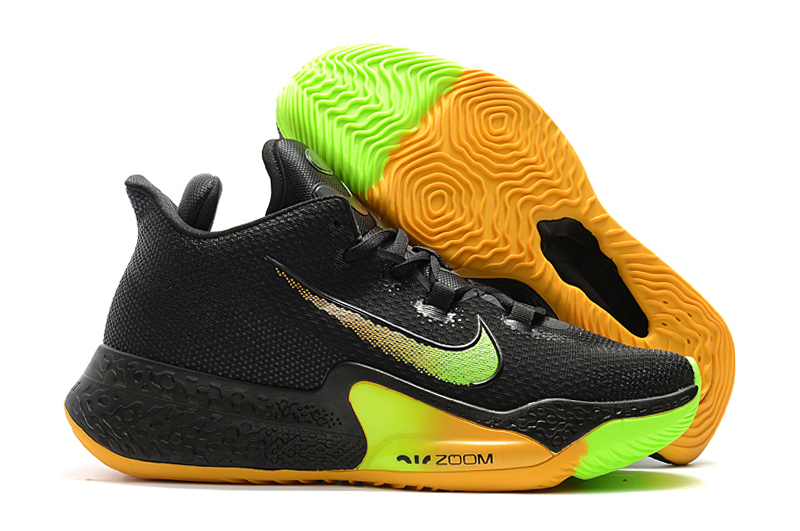 World Cup 2020 Nike Zoom Black Yellow Green Basketball Shoes