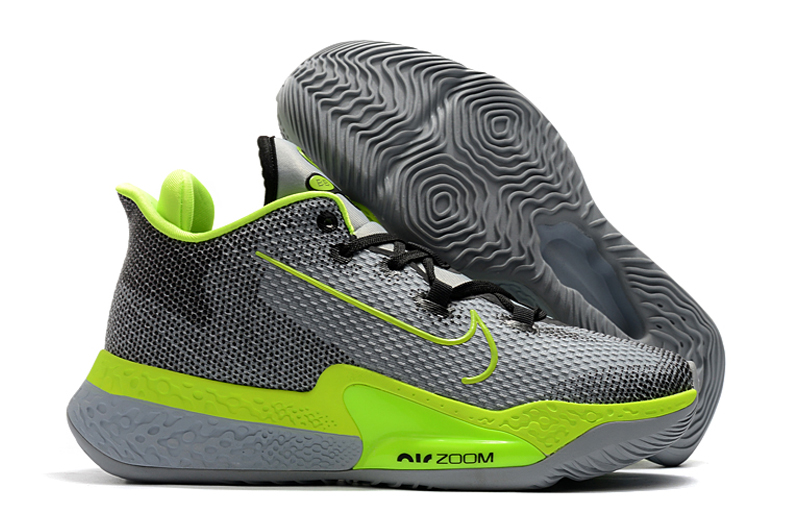 World Cup 2020 Nike Zoom Grey Green Basketball Shoes