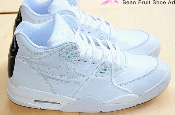 Air Flight 89 LE QS All White Shoes