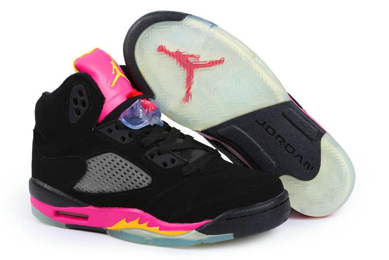 Nike Air Jordan 5 Spade Red Womens Basketball Shoes