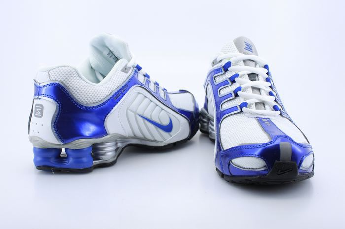 Authentic Nike Shox R5 White Blue For Men