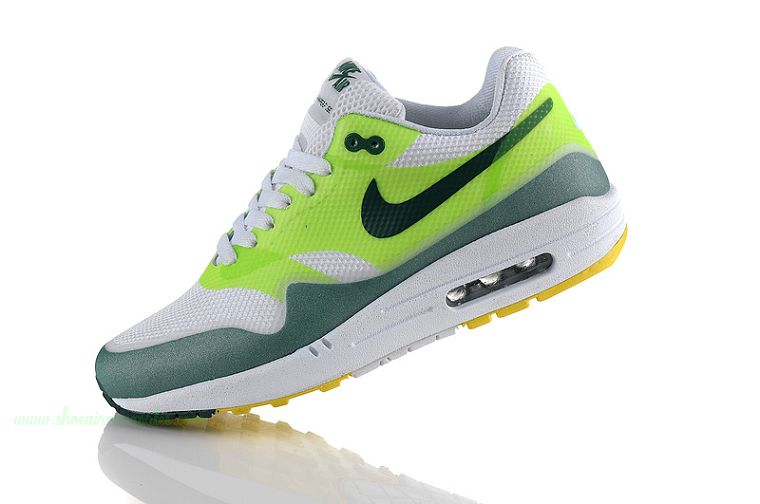 Cheap Nike Air Max 87 Womens Shoes White Green