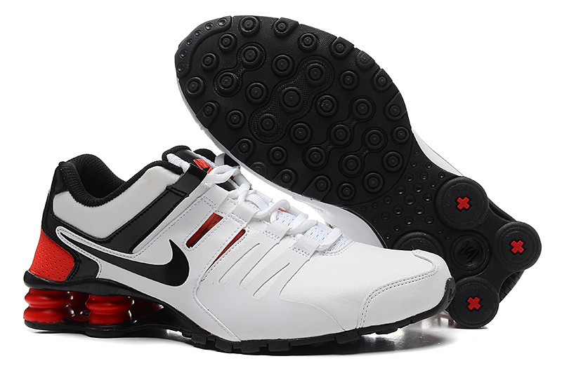 Cheap Nike Shox Current White Black Red For Men