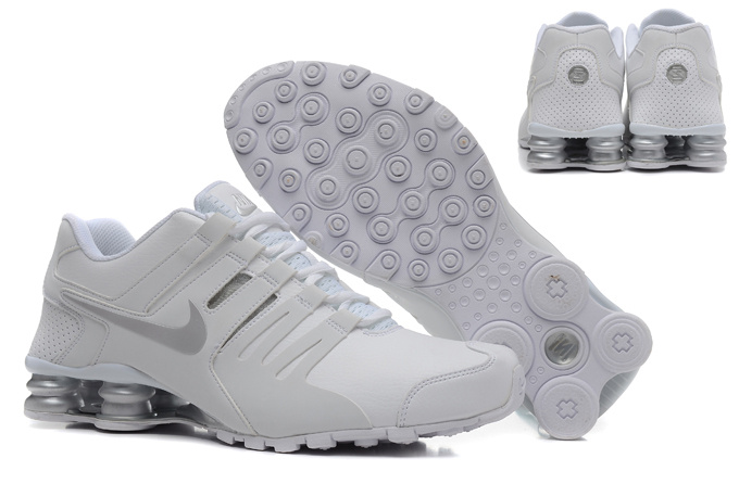 Cheap Nike Shox Current White Grey For Men