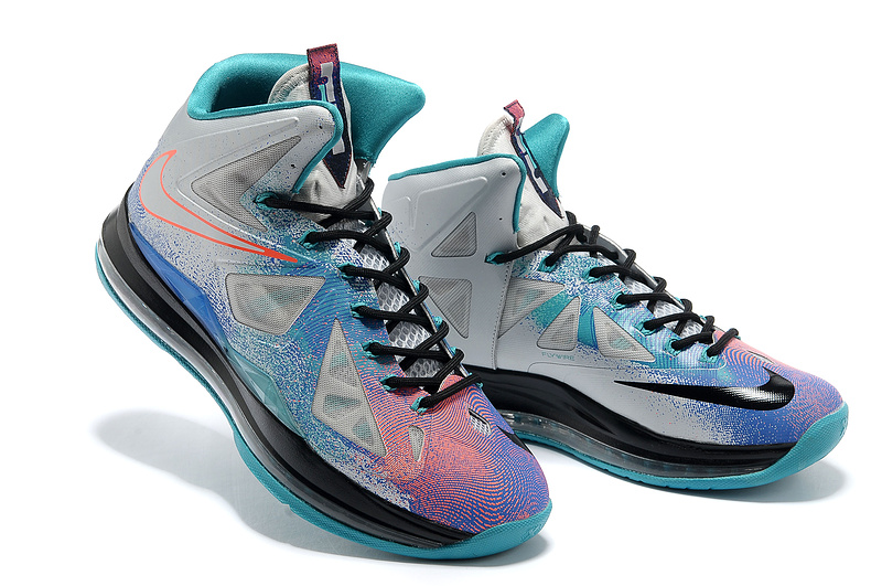2014 Nike Lebron James 10 Colorful Basketball Shoes