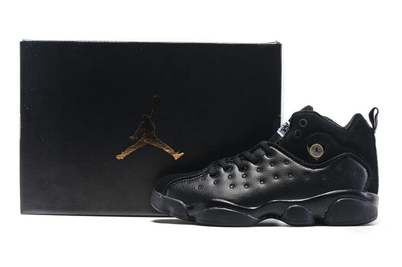 2016 Nike Jordan Team 2 GS All Black